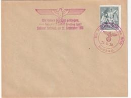 Tchecoslovaquie 1938 Lettre De Rossbach - Czechoslovakia