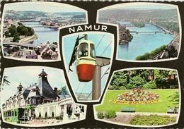 Souvenir De NAMUR. Multivues Dont Téléphérique. - Namur