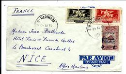 Lettre Du LIBAN 1949 - Air Mail - Par Avion - Capitaine De Vaisseau Jean Ballande - Lebanon