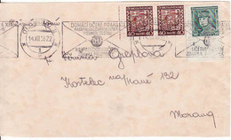 Czechoslovakia 1936, Letter Olomouc - Kostelec Na Hané - Czechoslovakia