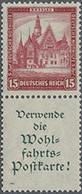 1931, Nothilfe Bauwerke, 15+A1.2., Postfr. Senkr.Zusammendruck,Mi. 320.- - Duitsland