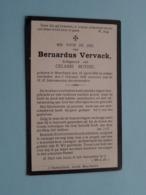 DP Bernardus VERVACK ( Celanie Buysse ) Bouchaute 15 April 1858 - 5 Feb 1920 ( Zie Foto's ) ! - Todesanzeige