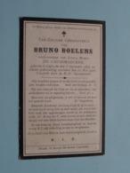 DP Bruno BOELENS ( Lucia Maria De Causemaecker ) Caprycke 8 Sept 1832 - 12 Mei 1916 ( Zie Foto's ) ! - Todesanzeige