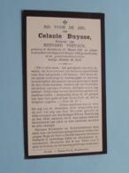 DP Celanie BUYSSE ( Bernard Vervack ) Boekhoute 12 Maart 1856 - 13 Jan 1940 ( Zie Foto's ) - Todesanzeige