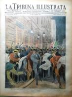 La Tribuna Illustrata 23 Maggio 1915 WW1 Alpini Tunnel Manica D'Annunzio Grecia - Guerre 1914-18