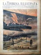 La Tribuna Illustrata 13 Giugno 1915 WW1 Aquileja Croce Rossa Ancona Isonzo Pola - Guerre 1914-18