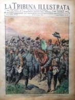 La Tribuna Illustrata 20 Giugno 1915 WW1 Radetzky Cortina Mascherina Duino Avio - Guerre 1914-18