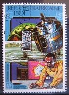 Timbre Poste Aérienne. Coopération Europe-Afrique : Météorologie. Centrafrique. 1980 - Y.T. N° PA 227. - Zentralafrik. Republik