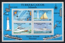 Turks & Caicos - 1978 - Turks Island Passage Miniature Sheet - MNH - Turks & Caicos