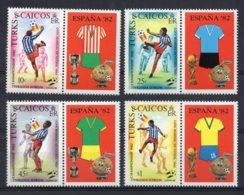 Turks & Caicos - 1982 - Football World Cup - MNH - Turks E Caicos