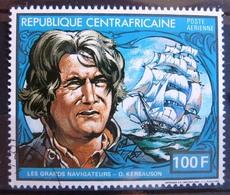 Timbre Poste Aérienne. Les Grands Navigateurs : Olivier De Kersauson. Centrafrique. 1982 - Y.T. N° PA 252. - Zentralafrik. Republik