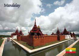 1 AK Myanmar * Eine Klosteranlage In Der Stadt Mandalay - Die Zweitgrößte Stadt Des Landes * - Myanmar (Burma)