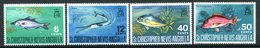 St Kitts, Nevis & Anguilla 1969 Fish Set MNH (SG 195-198) - St.Christopher-Nevis-Anguilla (...-1980)