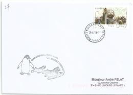YT 3958 Tsar Kolojan - Base Antarctique Saint-Clément-d'Ohrid - 29/02/2008 - Lettres & Documents