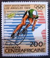 Timbre Poste Aérienne. Jeux Olympiques. Los Angelès 1984. Centrafrique. 1983 - Y.T. N° PA 291. - Zentralafrik. Republik