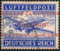 "1944, ""Inselpost"" Kreta Gestempelt, Geprüft Petry BPP - Allemagne"