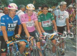 GIRO D'ITALIA N. 6 - 1990: BUGNO - CHIAPPUCCI - ANDERSON - PULNIKOV - CICLISMO CYCLISME CYCLING - Ciclismo