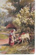 "L20k193 - ""In The Country"" A Frugal Meal - Gilbert Foster - Oilette - Raphaël Tuck N°9031 - Peintures & Tableaux"