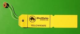 BUFFALO AIRWAYS | Baggage Label | Avion / Airplane / Flugzeug - Baggage Labels & Tags