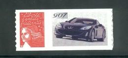 3729 D  Marianne De Luquet Lettre 20g  - Personnalisé Peugeot 907  Autocollant - Personalizzati