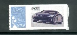 3729 D  Marianne De Luquet  0.75 - Personnalisé Peugeot 907  Autocollant - Personalizzati