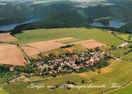 1 AK Germany / Thüringen * Blick Auf Reitzengeschwenda - Ein Ortsteil Von Drognitz - Luftbildaufnahme * - Allemagne