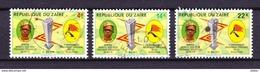 Zaire 1972 Nr 803/05 Gestempeld, Zeer Mooi Lot Krt 3878 - 1971-79: Used