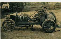 72 - CIRCUIT DE LA SARTHE - Hémery, Vainqueur En 1905 Au Circuit Des Ardennes Sur Sa Voiture Darracq - Sin Clasificación