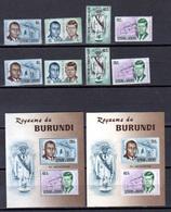 Burundi 1967, Kennedy, Churchill, Lions International, Expo De Montréal, Noël, Séries De 1967, Cote 87 € - Burundi