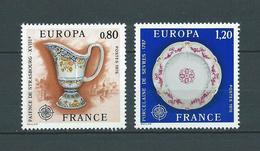 EUROPA - CEPT 1976 - France - 2 Val Neufs // Mnh - 1976