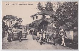 COLOMBO (Ceylan Ceylon) - Charrette à Boeufs - Sri Lanka (Ceylon)