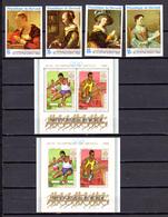 Burundi 1968, J.O. Grenoble, Tableaux, Semaine Lettre, J.O. De Mexico, Noël, Entre 260 Et 302**, Cote 65,50 €, - Burundi