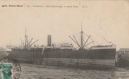 """CPA 35 Saint-Malo - Le """"Californie"""" Dans L'avant-port, à Marée Basse - Saint Malo"""