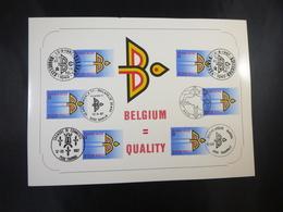 "BELG.1987 2262 FDC Philacard : "" Buitenlandse Handel / Commerce Extérieur "" - FDC"