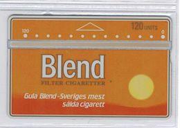 SUEDE - Holographique - BLEND 120 Unités - Mint - Voir Scans - Suède