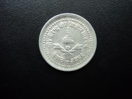 NÉPAL : 25 PAISA   2046 (1989)   KM 1015.1       TTB - Népal