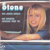 STONE - SP - 45T - Disque Vinyle - Nos Jeunes Annés - 46216 - Discos De Vinilo