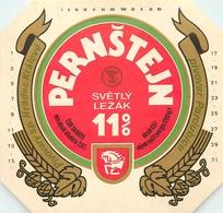 Ancienne étiquette BIERE E13 REPUBLIQUE TCHEQUE PERSTEIN - Birra