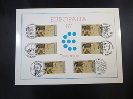 "BELG.1987 2247 FDC Philacard : ""  Europalia '87 ""- Autriche/Europalia '87 - Oostenrijk - FDC"