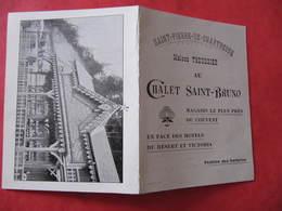 Non CPA - Carte 2 Volets - SAINT PIERRE DE CHARTREUSE - MAGASIN DU CHALET SAINT BRUNO - TROUSSIER - Autres Communes