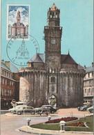 """CM De """"Vire - 14, Calvados"""" Du 08-07-1967, GF Illustré 36 Mm Sur YT 1500 - Cartoline Maximum"""