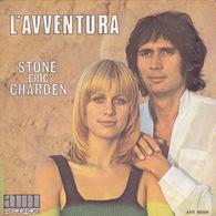 STONE ERIC CHARDEN - SP - 45T - Disque Vinyle - L'aventura - 86004 - Discos De Vinilo