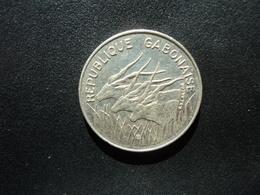 GABON : 100 FRANCS   1984     KM 13      SUP - Gabón