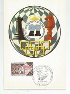 06 Nice Tournoi Jeux D'échec Olympiques Echiqueens 1974 échecs - Non Classés