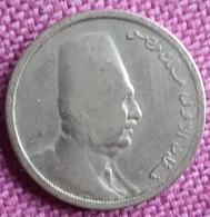 EGYPTE : 5 MILLIEMES 1933 AH 1342 1 Jr. Type - Egypte