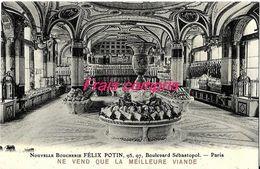75 - Paris - Nouvelle Boucherie FELIX POTIN - France