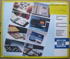 SAFE/I.D. - Jeu T.A.A.F. 1991 - Pré-Imprimés
