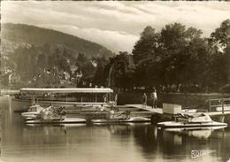 """CP De GERARDMER """" Un Ponton Sur Le Lac """" - Gerardmer"""