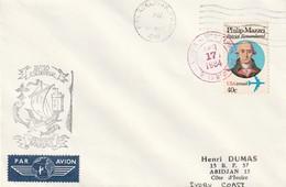 13246  A.E. Commandant BOURDAIS - à PHILADELPHIE (USA) En 1984 - Naval Post