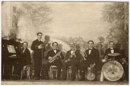 "Orchestre De Jazz ""SIX MELODY JAZZ PALACE""  C 1945  Tirage Original D'époque FG0341 - Métiers"
